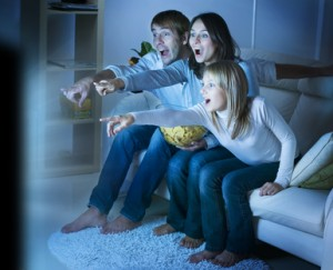 Home Cinema - Privacy Blinds