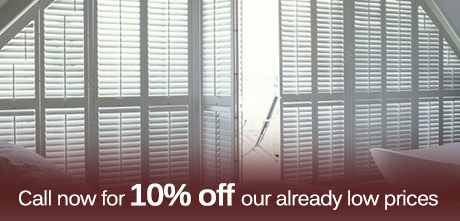 Call now for 10% off our Sydney Blinds prices!