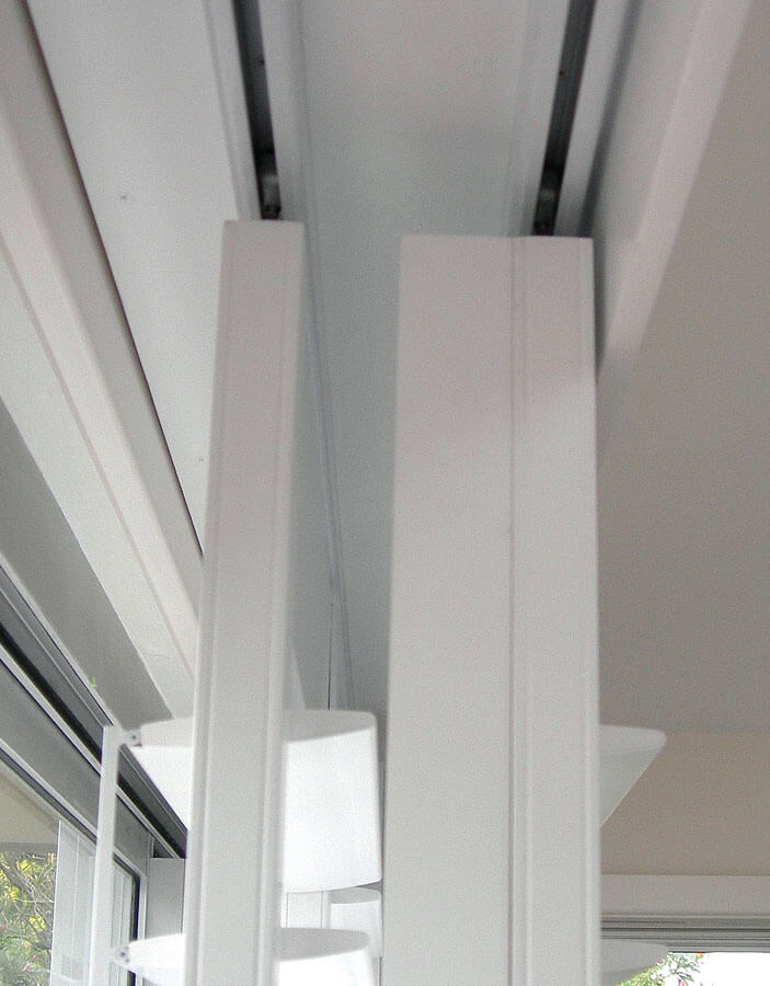 How Are Plantation Shutters Mounted Over Sliding Glass Doors?