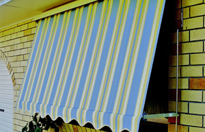 Spring Loaded Awnings