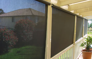 Clear PVC Awnings