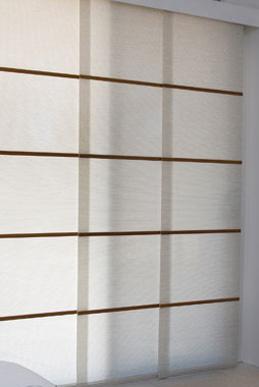 Stylish Panel Glide Blinds