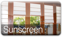 Sunscreen Roman Blind