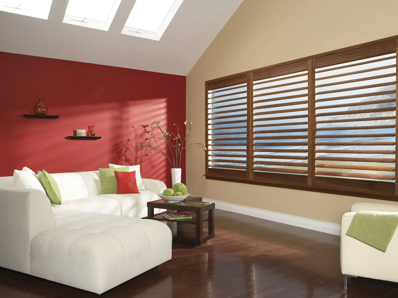 Timber and Aluminimum Venetian Blinds