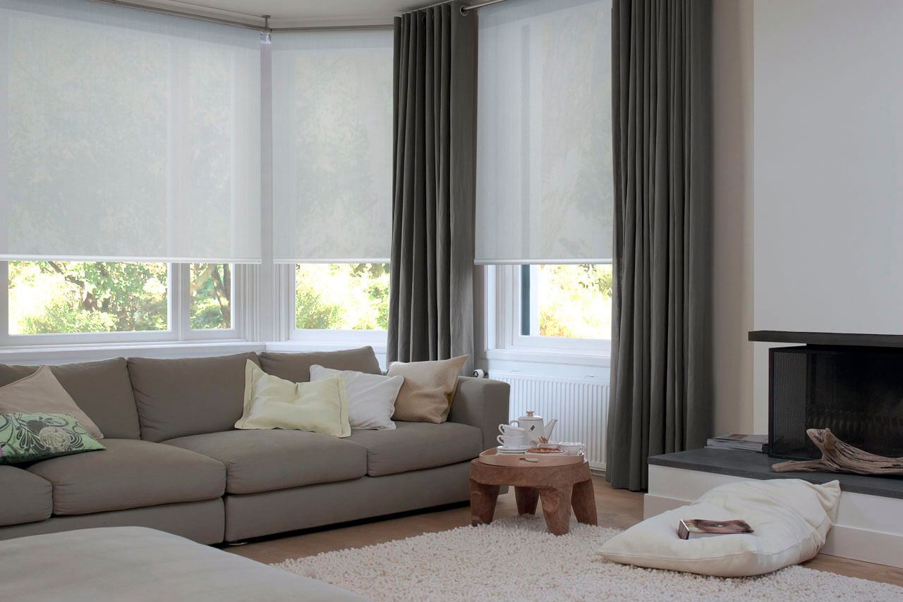 Roller Blinds for Living Rooms