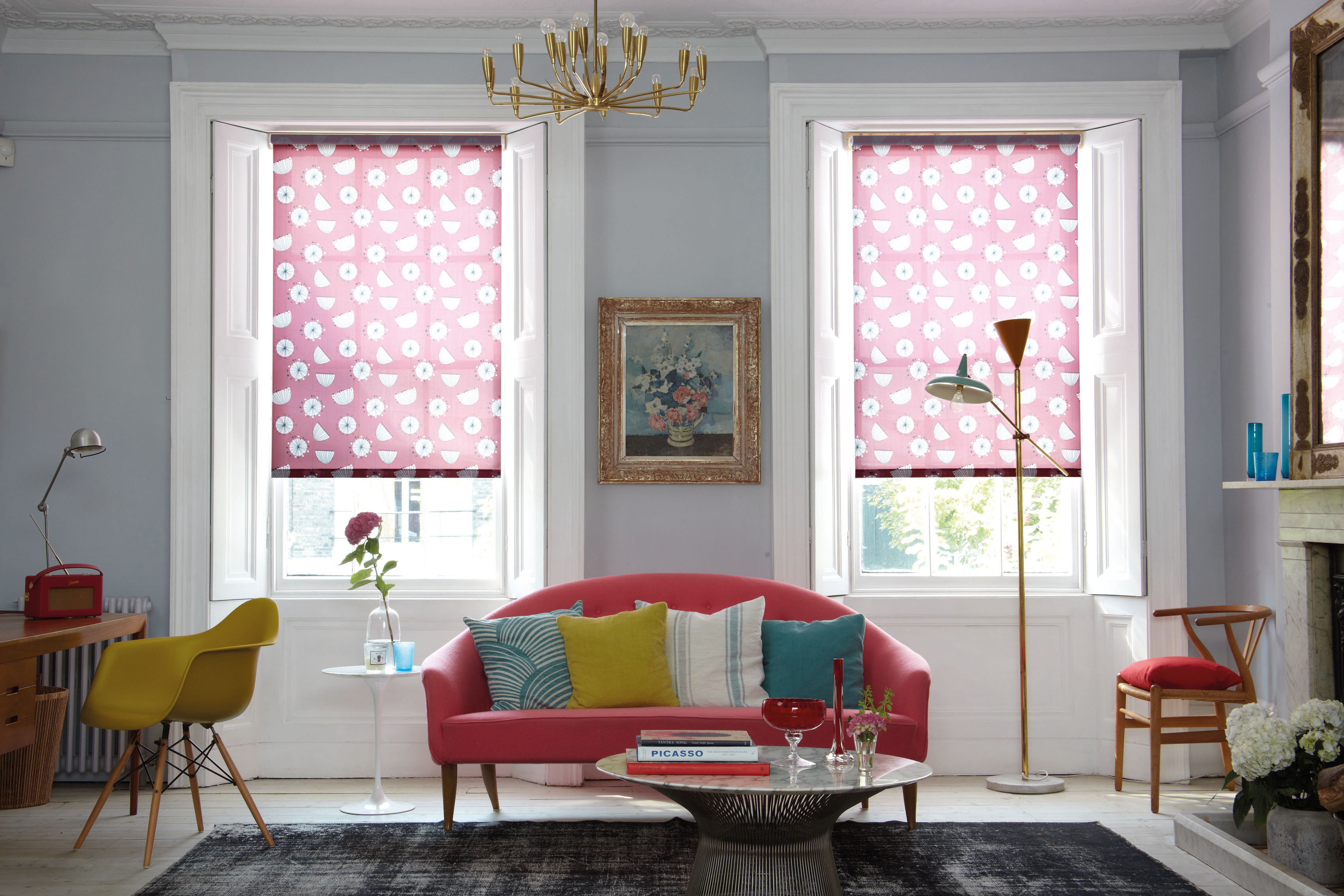 High Quality Patterned Blinds