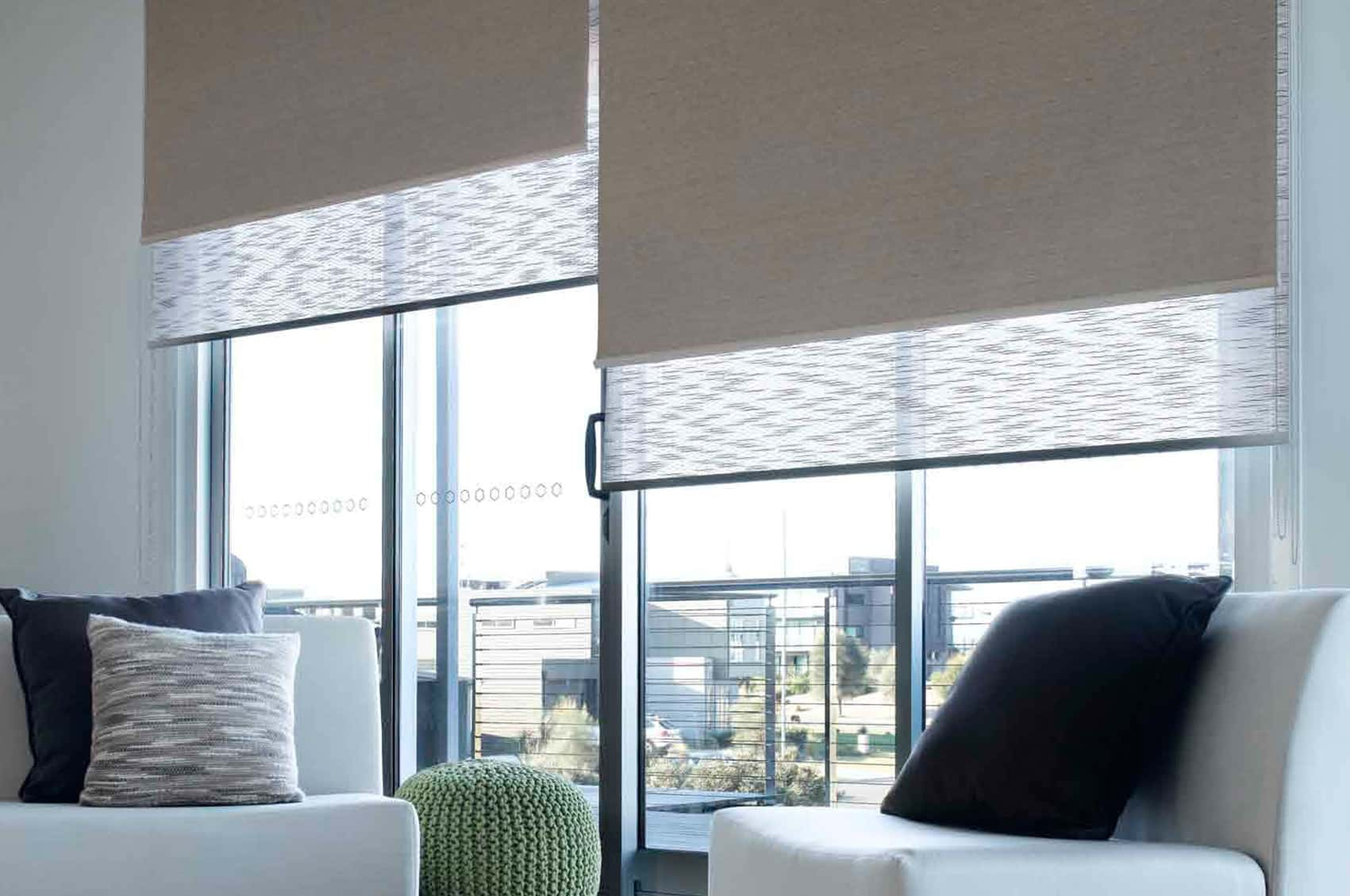 Dual Roller System Blackout Blinds