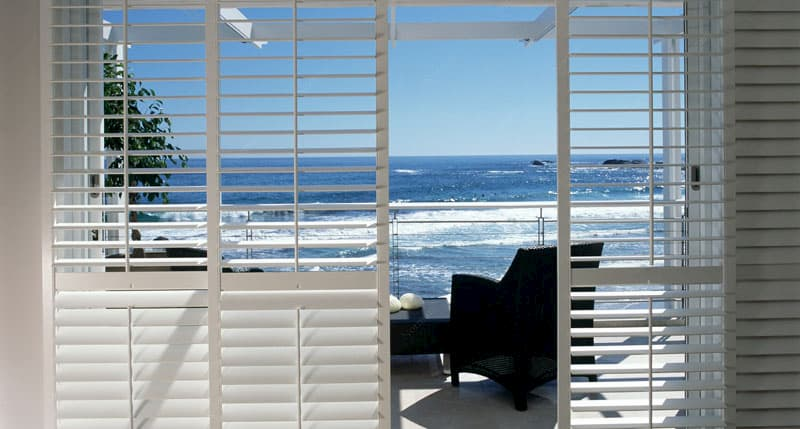 Plantation shutters for natural light