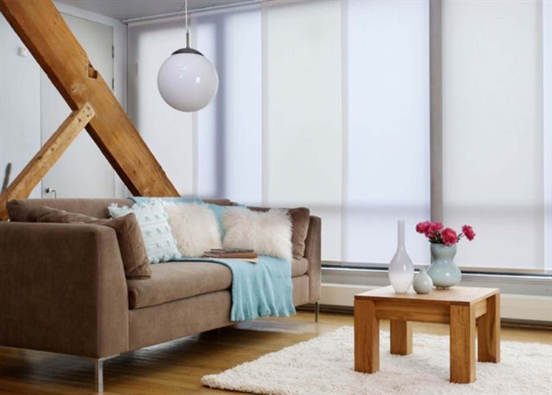 Panel Guide Blinds for Rental Properties