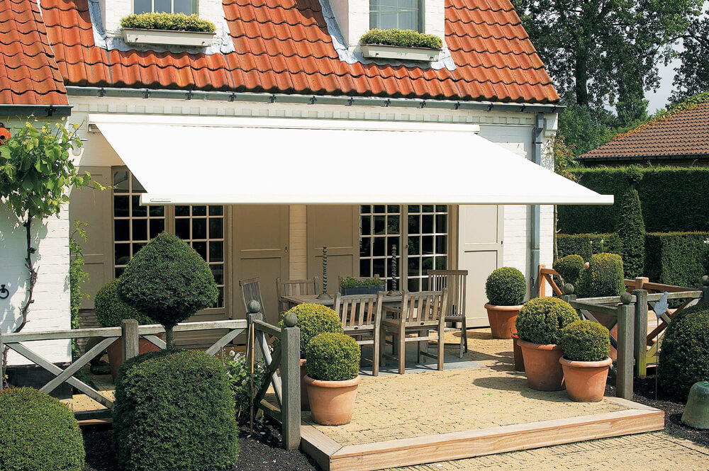 Horizontal Awnings Small Spaces