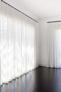 Float Length Curtains