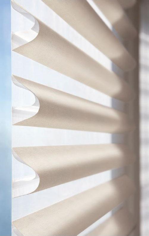 Flexible Light Control - Pirouette Shades