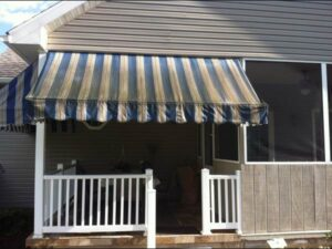 Mouldy Awnings do nothing for the outside of a home or business.